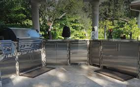 Stainless Steel Outdoor Kitchen Outdoor Kitchens Lasertron Direct