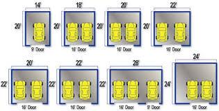 Garage DimensionsSize Of A 2 Car Garage