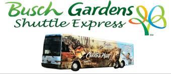 busch gardens shuttle