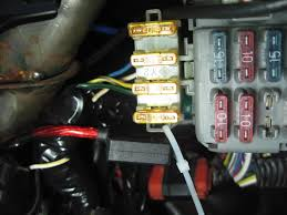 how to install power windows and locks in your 88 91 civic crx 56k now clean up all the wires some tape or plastic covering and tuck them away attach the fuse holder to the side of the fuse box