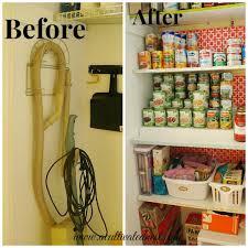 pantry makeover organization