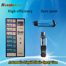 high efficiency save paint automatic oil paint electrostatic spray painting machine