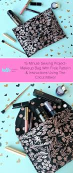15 minute sewing project diy makeup