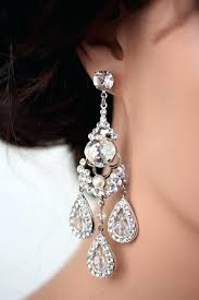 crystal chandelier earrings for wedding weddings a i wish i would have had these bridal earrings chandelier