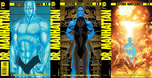 crítica antes de watchmen 2 dr manhattan el gato de portadas de la miniserie dr manhattan