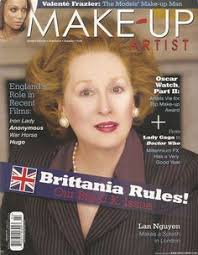 iron lady makeup artist magazine