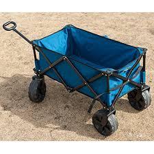 folding garden cart. TimberRidge-Folding-Camping-Wagon-Garden-Cart-Large-Wheels- Folding Garden Cart