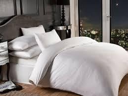 1000 thread count white colour luxury superior quality hotel bedding duvet set