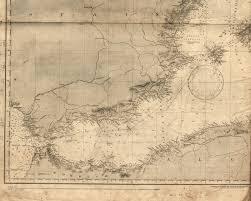 Chart Mediterranean Sea Western Sheet Segment The