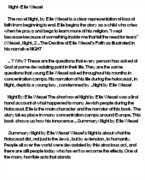 essay on night by elie wiesel hope essay topics essay for night by elie wiesel