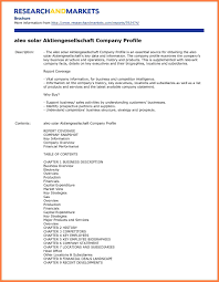 Sample Company Report 24 Sample Of Company Profile For A New Company Company Letterhead 3