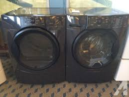 kenmore elite washer and dryer white. kenmore elite front load washer \u0026 dryer set / pair - and white