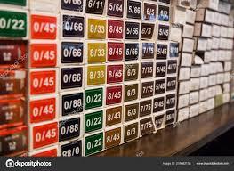 Color Chart Chemical Hair Dye Color Salon Selection Stock