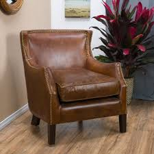 Tillo Top Grain Vintage Brown Leather Club Chair by Christopher Knight Home  - Free Shipping Today - Overstock.com - 18149644