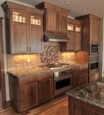 Ceramic Tile Countertops Quarter Sawn Oak Kitchen Cabinets Lighting  Flooring Sink Faucet Island Backsplash Mosaic Tile Marble Cherry Wood  Bordeaux Glass ...