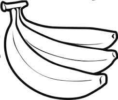 Small Picture banana fruit coloring page for kids boys and girls Fruits