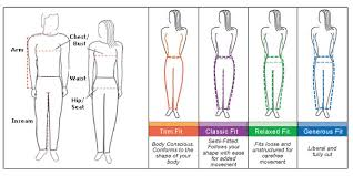 full body measurement chart size charts alpbuddy