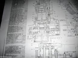 17 best images about harley davidson engine blueprint drawing details about harley davidson plan drawing print 61ci knucklehead engine blueprint el hd