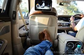 2014 Mercedes S Class review rear seat max legroom - Indian Autos blog