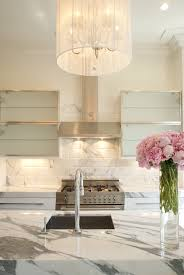 calacatta marble kitchen waterfall:  dsc