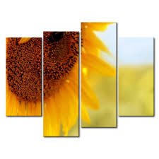 Sunflower Home Decor So Crazy Art Canvas Print Wall Art Painting For Home Decor