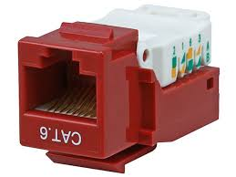 cat6 rj 45 toolless keystone red monoprice com