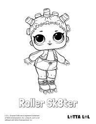 Lol Doll Coloring Pages Lol Dolls Series 2 Motivational Hd Wallpapers
