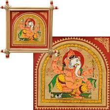 Small Picture Buy Sukhkarta Ganesha Palm Leaf Paintings traditional