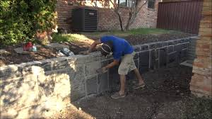 concrete carved retaining wall dallas fort worth texas you