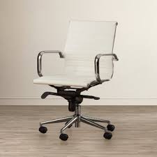 Off white office chair Eames Annabell Ergonomic Office Chair Wayfair Off White Wooden Desk Chair Wayfair