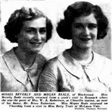 Beverly Burford (Beale) Robertson (1916-1994) | WikiTree FREE ...