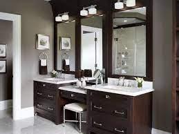 master bathroom vanity with makeup area