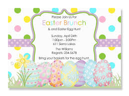Easter Invitations Templates Invitation Template Ideas