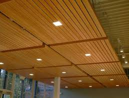 wood ceiling lighting. lovely basement ceiling ideas wood panel with square downlights awesome finishing grezu home interior decoration lighting