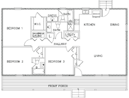 Small 3 Bedroom Cabin Plans Partedly Info