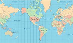 United States Map Of The World Do Individual Us States Show Up On Globes Not From The Us