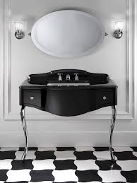 black and white bathroom furniture. black lacquered console table bathroom vanity by devonu0026devon and white furniture