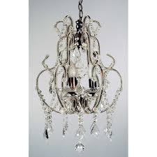 stunning crystal chandelier in a unique cage style 30 lead crystal