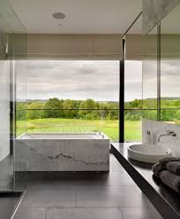 Green Bathroom Designs Spectacular Bathroom Design With A View