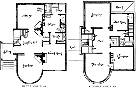 alluring queen anne house floor plans eplans plan high style victorian 7747 square