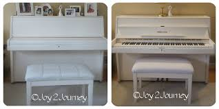 before and after piano bench
