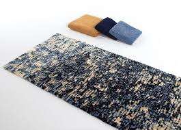 abyss habidecor imagine blue gold modern bath rugs bath mat rug
