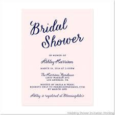 Bridal Shower Invitation Wording Fresh Shower Invitation Template
