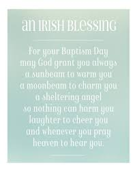 irish christening