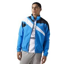 reebok jacket. reebok - men\u0027s classics track jacket riskbl br0111