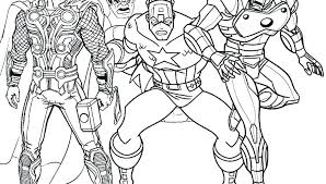 Surprising Marvel Coloring Page Pages Printable For Kids Coloring
