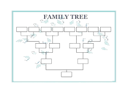 Printable Family Tree Template Onlineqicy Info