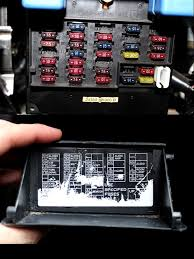 someone plz take a pic of your fuse diagram coin tray 96 2004 posted image