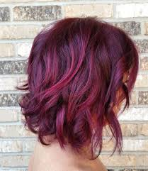 Cool Red Violet Hair Color Ideas