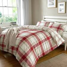 checked bedding red grey checked double bedding checked bedding asda
